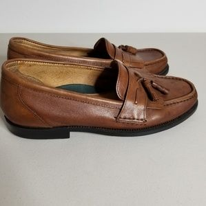 Borelli Men's Brown Kilt Tassel Slip on Shoes 11.5